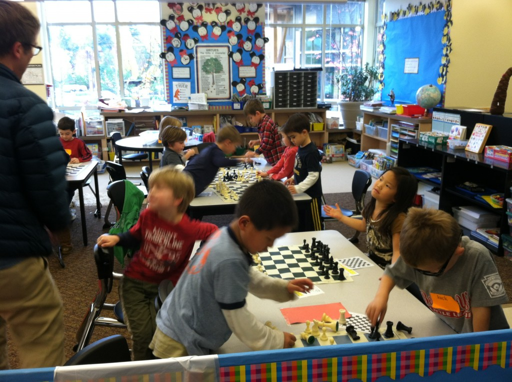school-kids chess-club